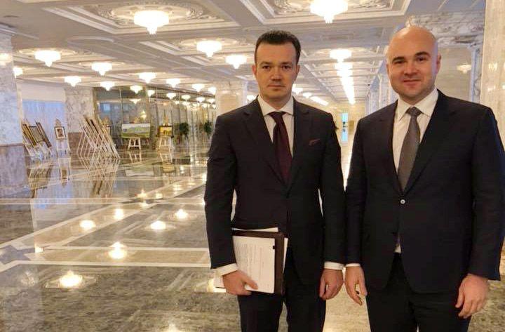 Виктор Прокопеня и Денис Алейников