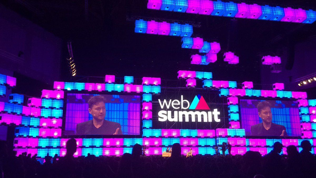 Брайан Джонсон на WebSummit