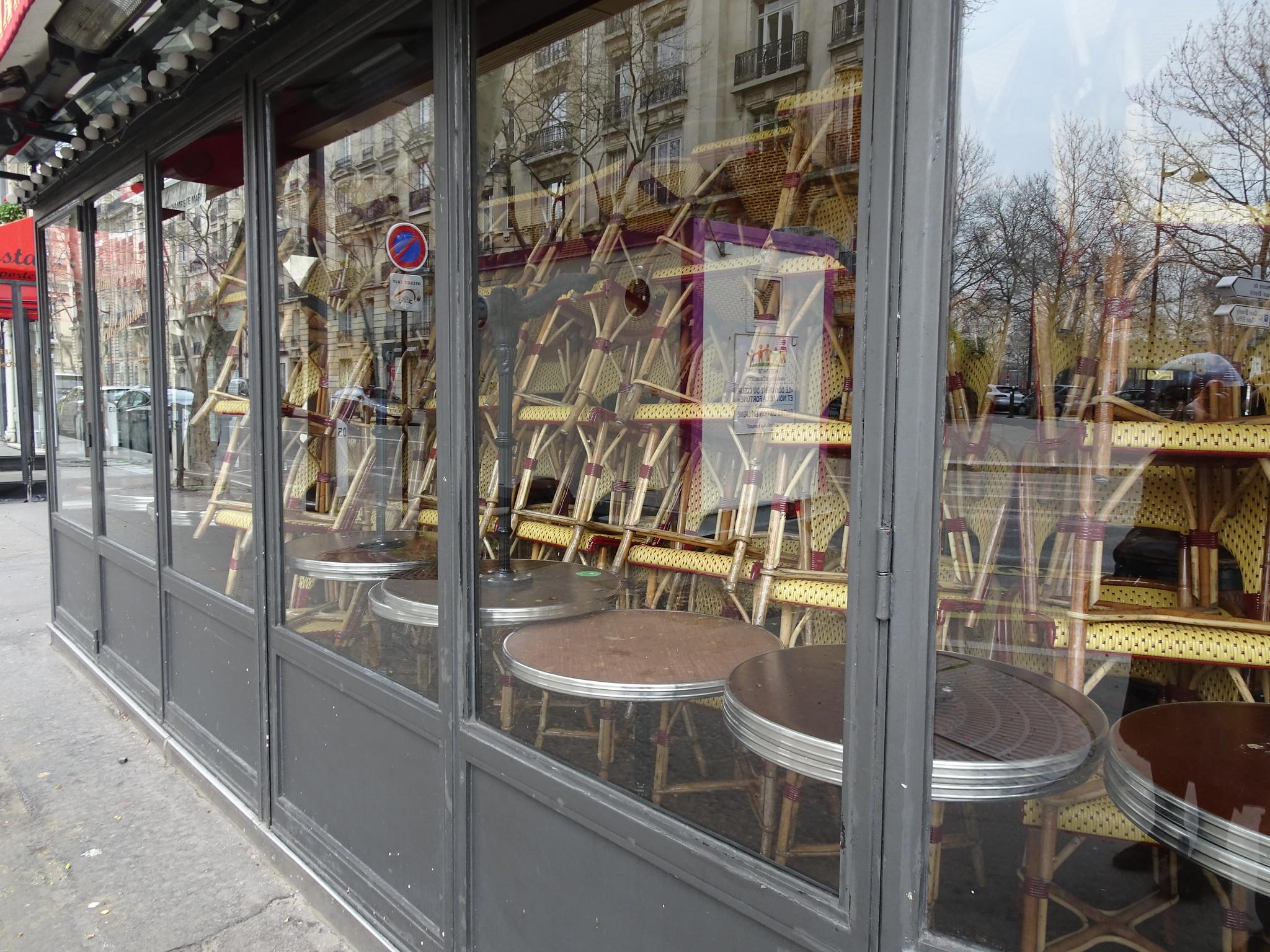 Париж, 17 марта 2020 года