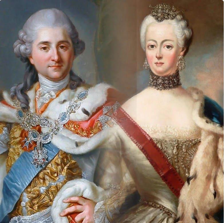 Станислав Август Понятовский и Екатерина II
