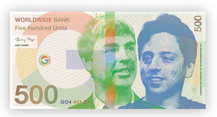 Банкнота Google